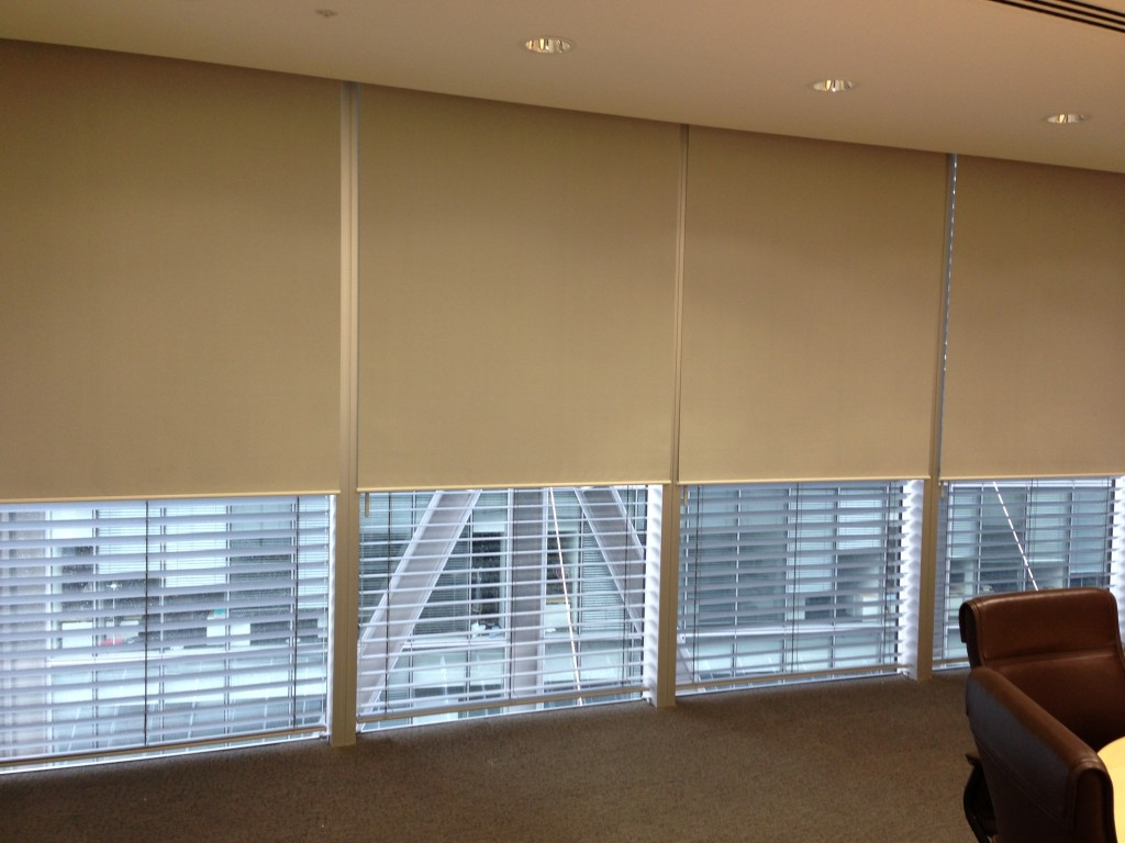 Roller Blinds Motorised Roller Blinds Office Blinds